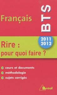 Deedr.fr Français BTS 2011-2012 - Rire : pour quoi faire ? Image