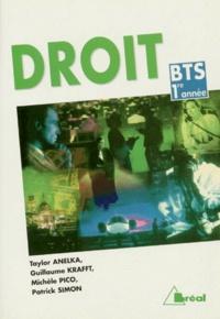 Patrick Simon et Taylor Anelka - Droit - BTS 1re année.