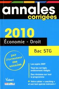 Patrick Simon - Economie Droit Bac Série STG 2010.