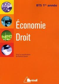 Patrick Simon - Economie Droit BTS 1re année.