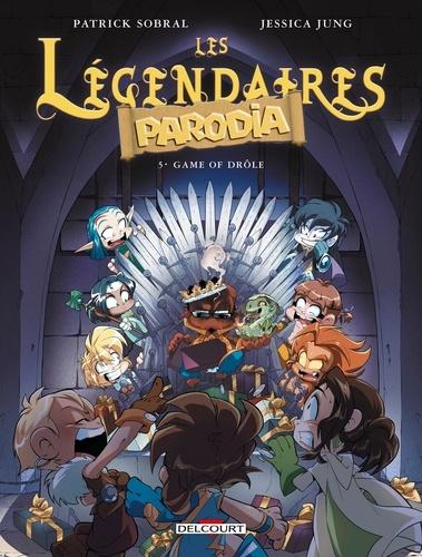 Les Légendaires Parodia Tome 5 Game of drôle
