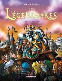 Livres audio gratuits en ligne non téléchargeables Les Légendaires Tome 03 : Frères ennemis  en francais par Patrick Sobral 9782756035574