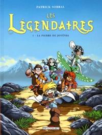 Patrick Sobral - Les Légendaires Tome 1 : La pierre de Jovénia.