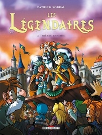 Patrick Sobral - Les Légendaires Tome 3 : Frères ennemis.