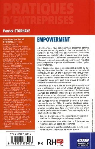 Empowerment. Autonomie et bien commun pour une entreprise performante et humaine