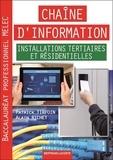 Patrick Tirfoin et Alain Richet - Chaîne d'information - Installations tertiaires et résidentielles - Baccalauréat professionnel MELEC.