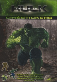 Patrick Tollec - Cinéstickers L'incroyable Hulk.