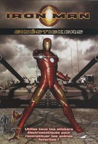 Patrick Tollec - Iron Man - Cinéstickers.