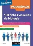 Patrick Troglia - 150 fiches visuelles de biologie - 2e éd..
