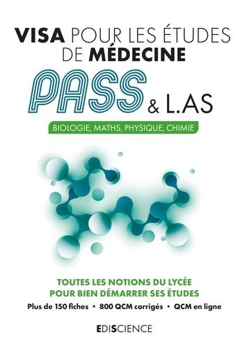 Visa pour les études de médecine PASS & L.AS. Biologie, Maths, Physique, Chimie
