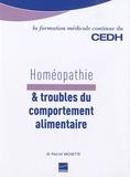 Patrick Vachette - Homéopathie & troubles du comportement alimentaire.