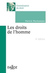 Patrick Wachsmann - Les droits de l'Homme.