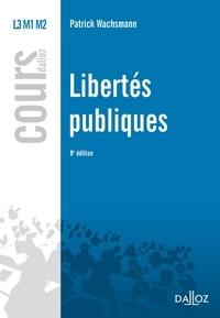 Patrick Wachsmann - Libertés publiques.