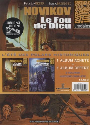 Patrick Weber et Bruno Brindisi - Novikov  : Pack en 2 volumes : Tome 1, Le Fou de Dieu ; Tome 2, Le sang des Boyards.
