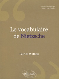 Le vocabulaire de Nietzsche.pdf