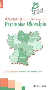 Patrimoine rhônalpin - Annuaire des adhérents du Patrimoine Rhônalpin.