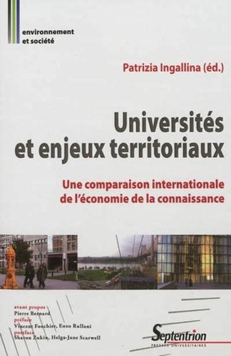 Patrizia Ingallina - Universités et enjeux territoriaux - Une comparaison internationale de l'économie de la connaissance.