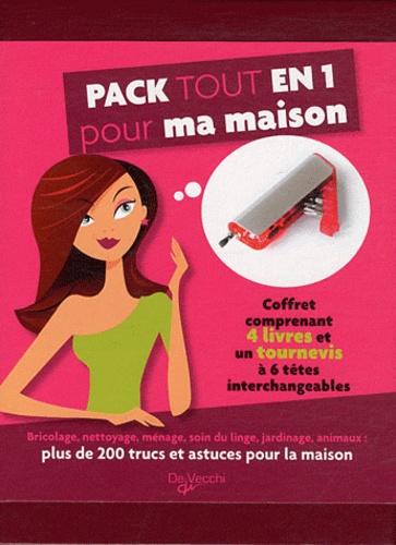 Patrizia Rognoni - Pack tout en 1 pour ma maison - Coffret avec 4 livres et un tournevis.