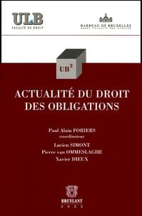 Lemememonde.fr Actualité du droit des obligations Image