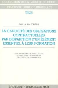 Paul Alain Foriers - .