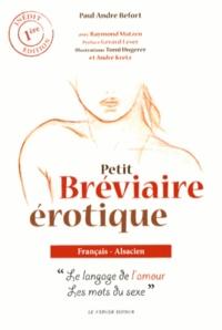 Petit bréviaire érotique français-alsacien - Le langage de lamour, les mots du sexe.pdf