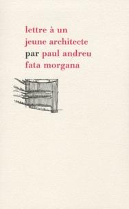 Deedr.fr Lettre à un jeune architecte Image