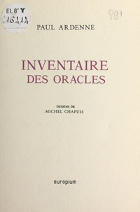 Paul Ardenne - Inventaire des oracles.