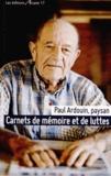Paul Ardouin - Carnets de mémoire et de luttes.