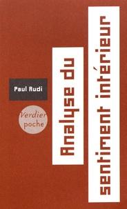 Paul Audi - Analyse du sentiment intérieur.