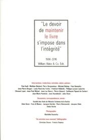 Paul Audi et Mathieu Bénézet - Le devoir de maintenir le livre s'impose dans l'intégrité.