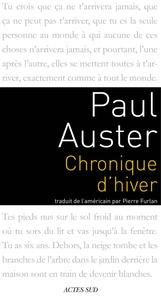 Téléchargement de livres pdf google Chronique d'hiver par Paul Auster