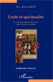 Paul Ballanfat - Unité et spiritualité - Le courant Melâmî-Hamzevî dans l'Empire ottoman.