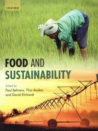 Téléchargements gratuits de google books Food and Sustainability