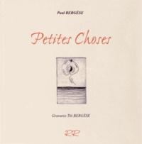 Paul Bergèse - Petites choses.