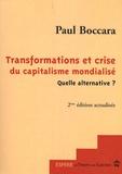 Paul Boccara - Transformations et crise du capitalisme mondialisé quelle alternative ?.