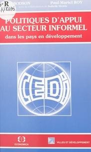 Paul Bodson - Politiques d'appui au secteur informel - Dans les pays en développement.