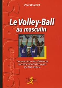 Paul Boudart - Volley-ball au masculin - Comparaison des différents entraînements d'équipes du top niveau.