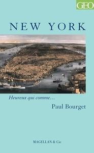 Paul Bourget - New York.