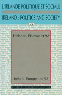 Paul Brennan - L'Irlande, l'Europe et 1992.