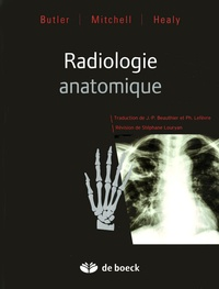 Paul Butler et Adam Mitchell - Radiologie anatomique.