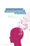 Paul Cappeau et Marie-Noëlle Roubaud - Regards linguistiques sur les textes d'élèves - (de 5 à 12 ans).