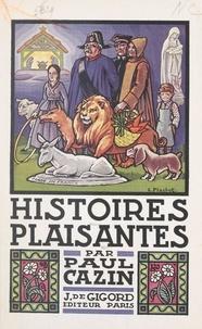 Paul Cazin et  Flachot - Histoires plaisantes.