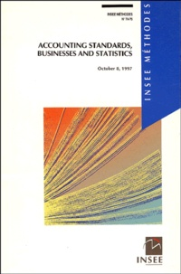 Paul Champsaur - Accounting standards, businesses and statistics.