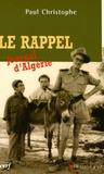 Paul Christophe - Le rappel - Journal d'Algérie.