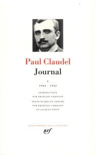 Ucareoutplacement.be Journal. Tome 1, Les années 1904 à 1932 du journal de Claudel Image