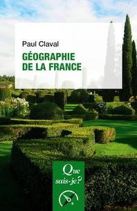 Paul Claval - Géographie de la France.