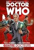 Paul Cornell et Neil Edwards - Doctor Who - Quatre Docteurs.