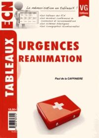 Paul de La Caffinière - Urgences Réanimation.