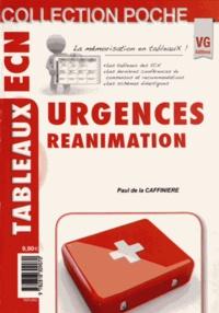 Paul de La Caffinière - Urgences - Réanimation.