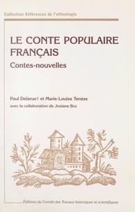 Paul Delarue et Marie-Louise Tenèze - Le conte populaire français - Catalogue raisonné des versions de France et des pays de langue française d'outre-mer.
